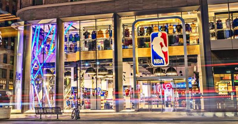 Primeira loja da NBA na América Latina será aberta no Brasil em julho