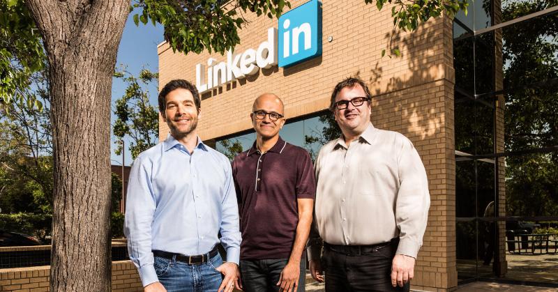 Microsoft compra LinkedIn por cerca de R$ 90 bilhões