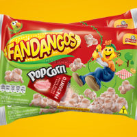 Elma Chips lança pipoca Fandangos sabor Presunto