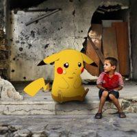Pokémon GO é usado por crianças sírias para lançar apelo ao mundo