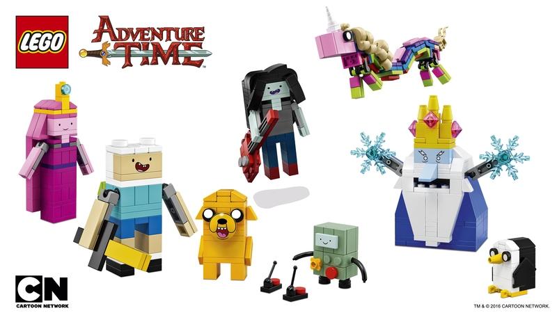 Lego lança coleção inspirada em Hora de Aventura