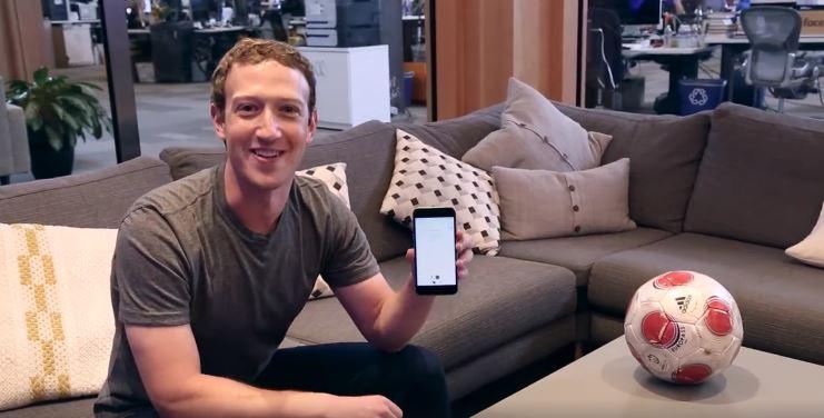 Zuckerberg desafia Neymar em game de futebol do Messenger