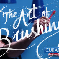 The Art Of Brushing: Artistas trocam pincéis por escovas Curaprox