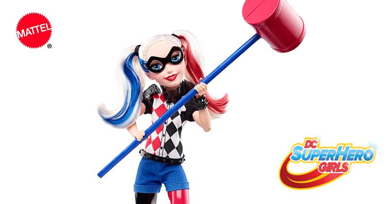 Mattel lança boneca de Harley Quinn, a Arlequina de Esquadrão Suicida