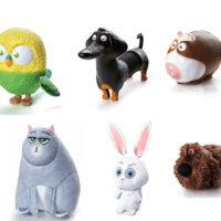 Próximos brindes do McLanche Feliz são personagens do filme Pets