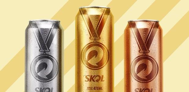 Skol lança latinhas com tema das Olimpíadas