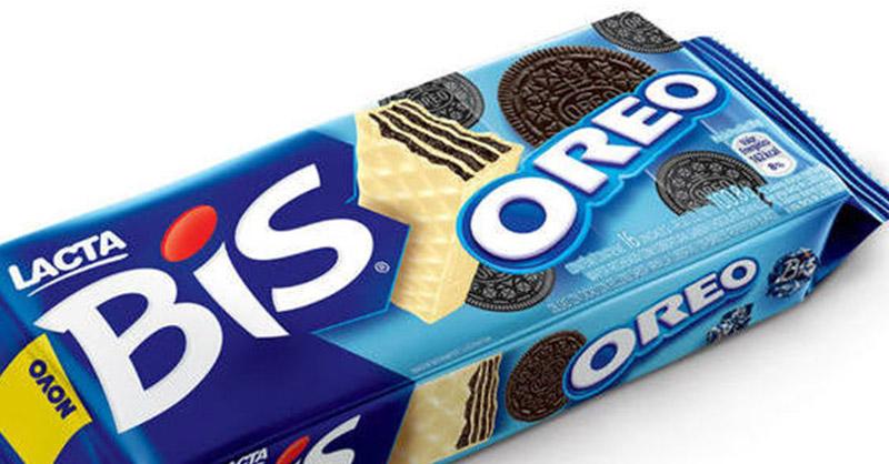 Bis lança edição sabor Oreo