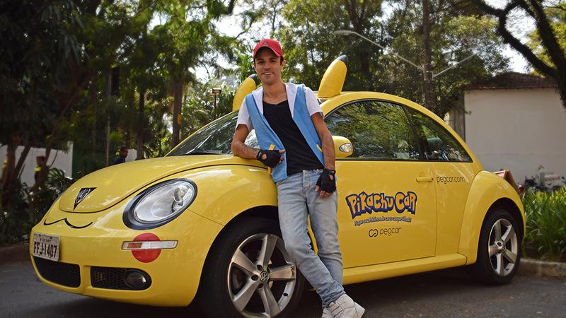 """Você já pode alugar um """"Pikachu Car"""" para caçar Pokémon Go"""