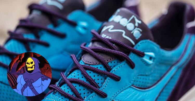Diadora lança tênis inspirado em He-Man