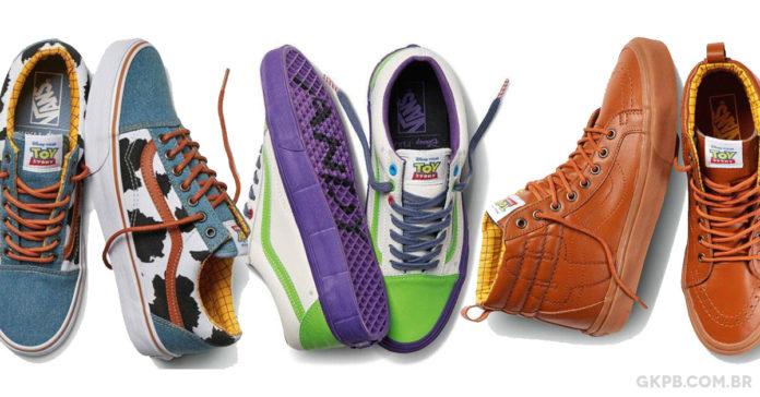07703fe2ba Vans anuncia coleção inspirada em Toy Story - Geek Publicitário
