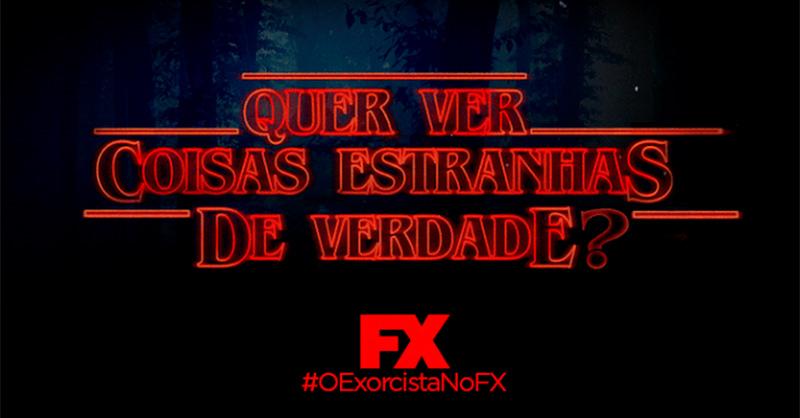 Fox provoca Netflix em anúncio para promover série O Exorcista