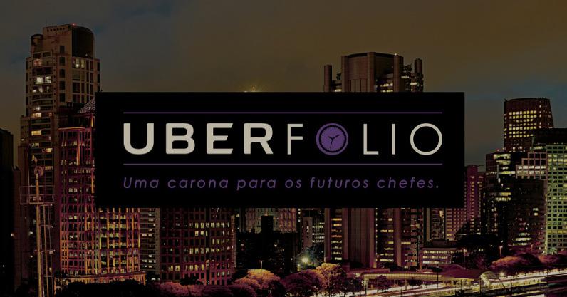Uberfolio: criativo paga carona de Uber para publicitários avaliarem seu porfolio