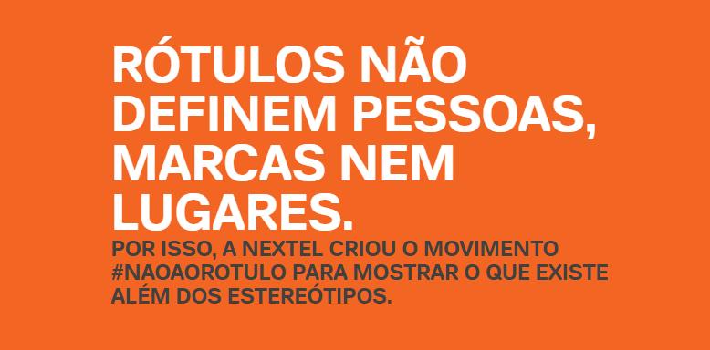 """Começa a nova etapa da ação da Nextel """"Rótulos"""". Nesta etapa, a campanha vai contra estereótipos de diversas profissões e outros rótulos sociais."""