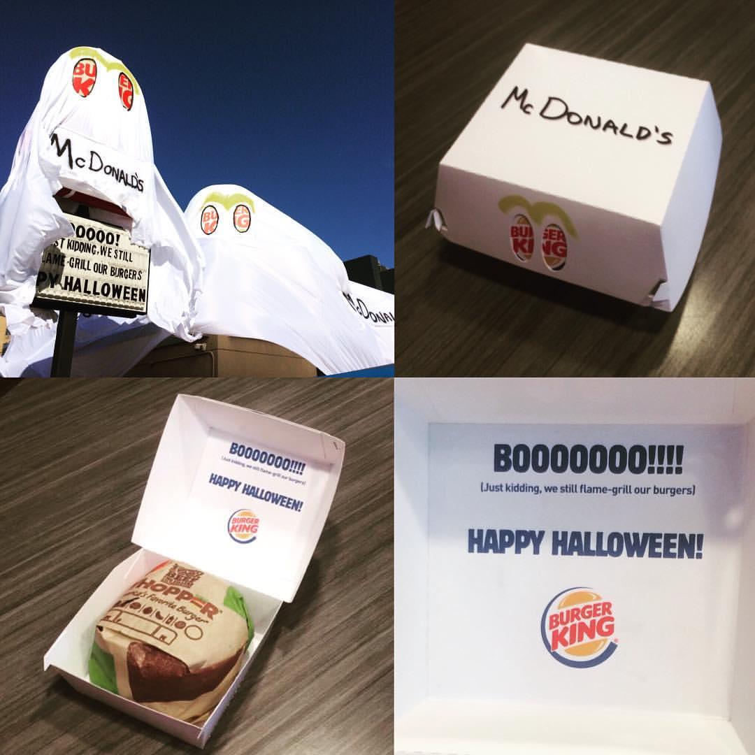 Resultado de imagem para burger king halloween