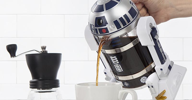 Você também vai morrer de amores por essa cafeteira em forma de R2-D2