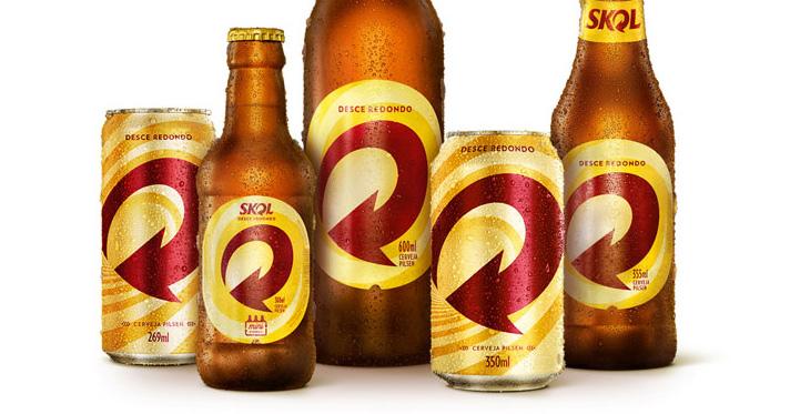 Skol apresenta nova identidade visual para latas e garrafas