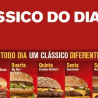 Clássico do Dia: todo dia uma McOferta diferente no McDonald's