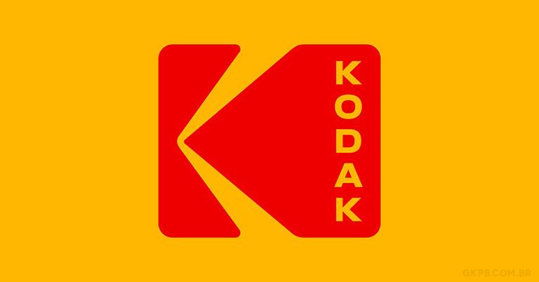 Kodak apresenta novo logo e volta a utilizar forma de 1971