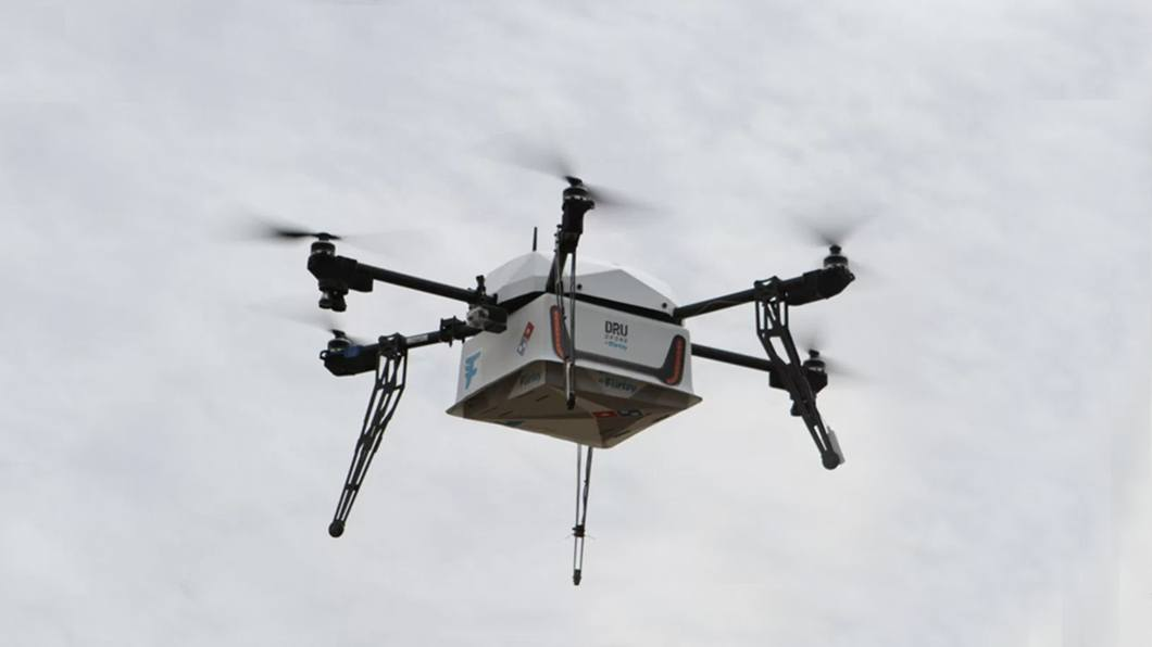 Domino's inova fazendo seu delivery usando um drone