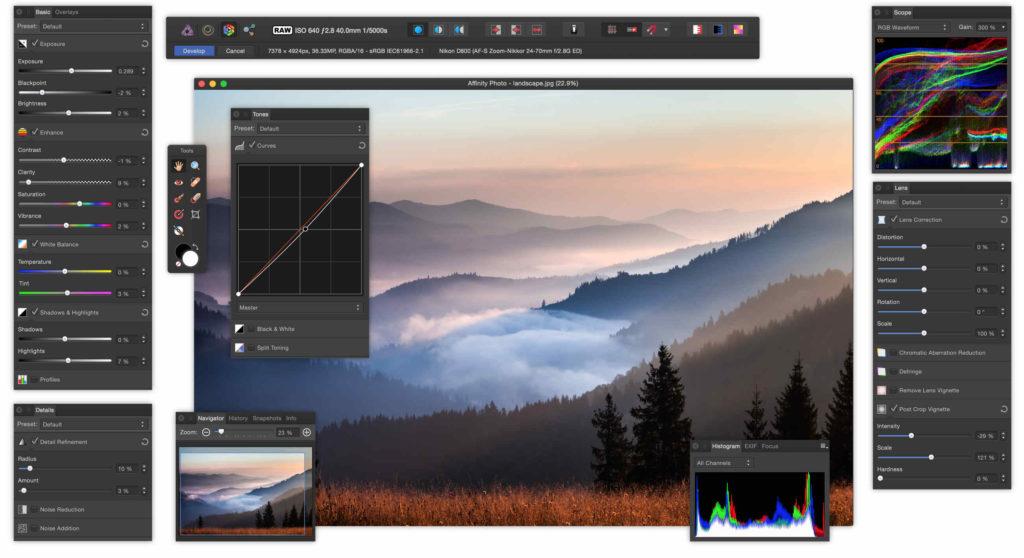 ferramentas-affinity-photo-concorrente-photoshop
