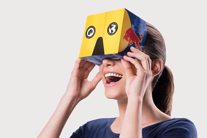Red Bull não vai só te dar asas como também um par de óculos VR