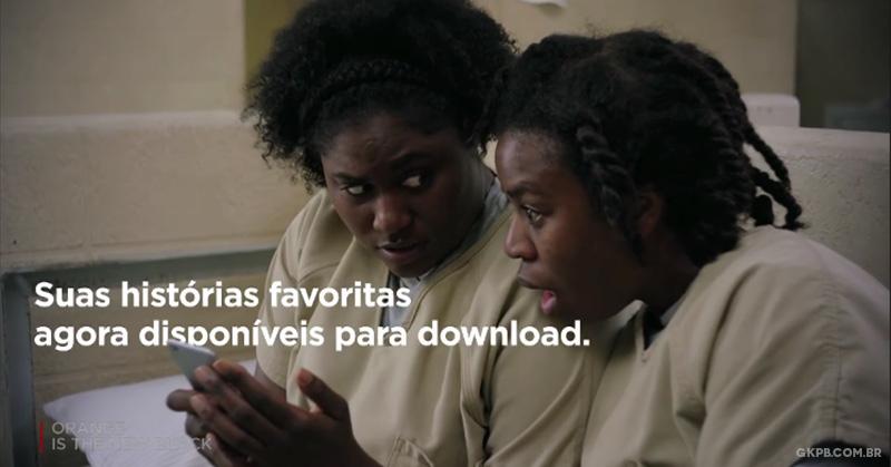 Netflix agora permite baixar séries e filmes para assistir offline