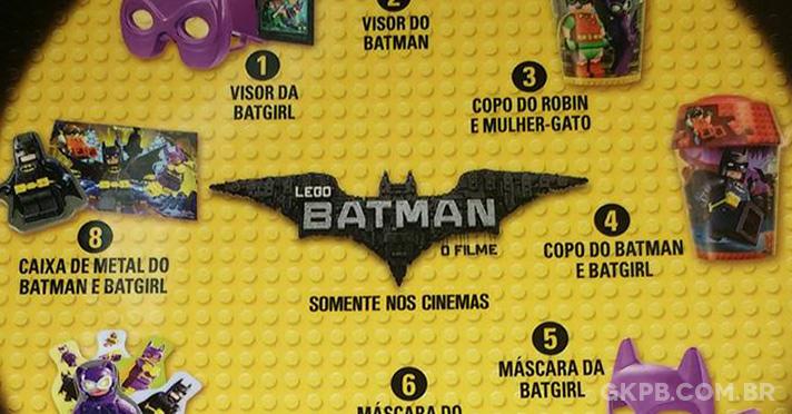 LEGO Batman é tema do McLanche Feliz em fevereiro
