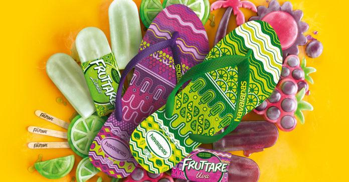 e141ddc62 Havaianas lança coleção inspirada em sorvetes Fruttare - Geek ...