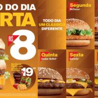Triplo Cheeseburger e Crispy Bacon voltam ao McDonald's como Clássicos do Dia