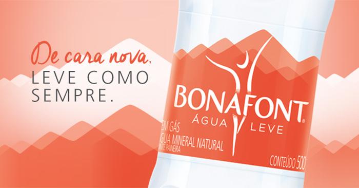 Bonafont apresenta novo logo e nova identidade visual