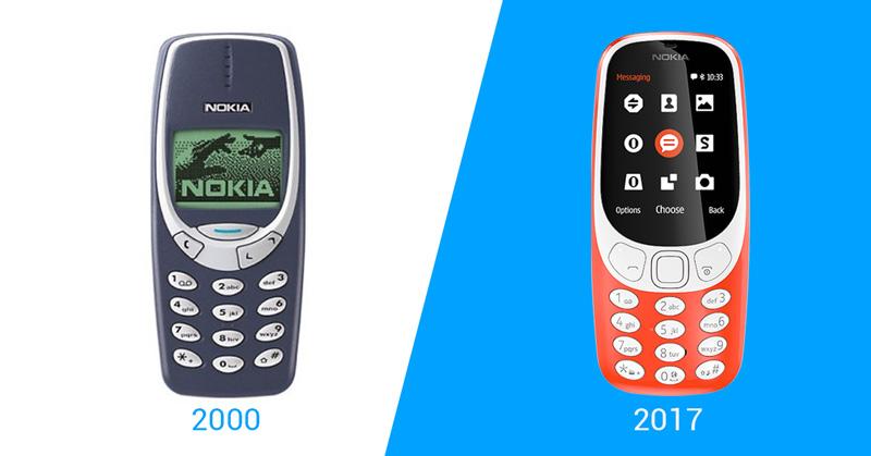 Nokia relança seu clássico telefone 3310