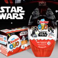 Kinder lança Ovo de Páscoa com temática Star Wars