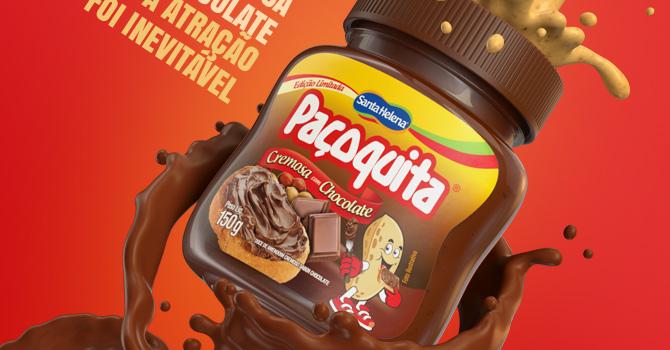 Paçoquita Cremosa ganha edição sabor Chocolate