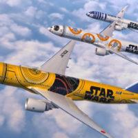 Companhia aérea lança aviões personalizados com temática Star Wars