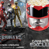 Cinemark lança balde de pipoca em forma de capacete do Power Rangers