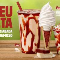 "Burger King lança sobremesas sabor ""Romeu e Julieta"""