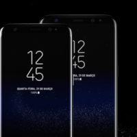 Samsung apresenta novos Galaxy S8 e Galaxy S8 Plus