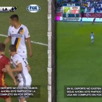 Fox Sports transmite jogos separados por muro no México