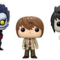 Death Note ganha coleção de bonecos Funko Pop!