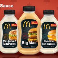 McDonalds começa a vender molho do Big Mac no Canadá
