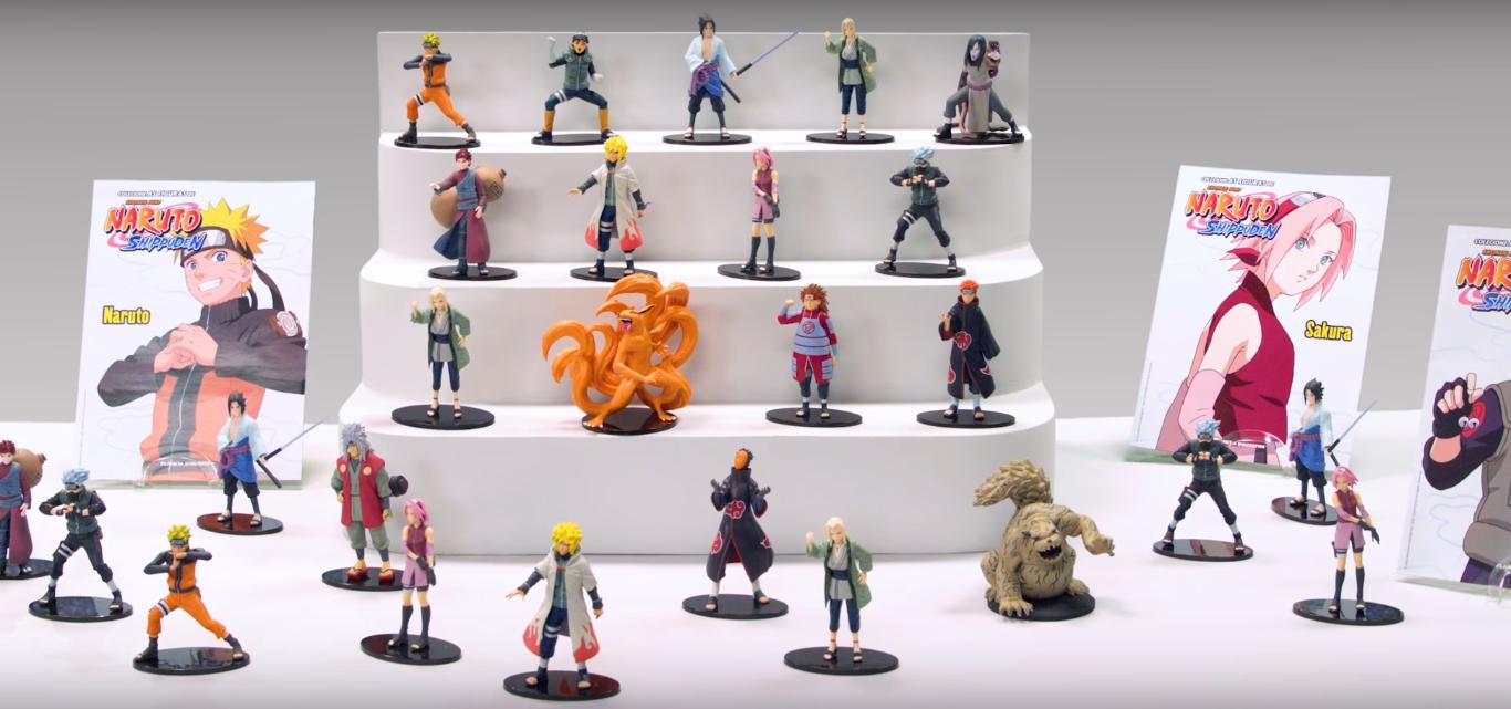 Planeta DeAgostini lança coleção de miniaturas Naruto ...
