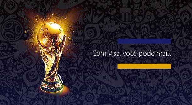 Visa traz troféu da Copa do Mundo para o Brasil