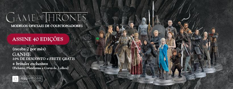 Eaglemoss lança coleção de miniaturas Game Of Thrones
