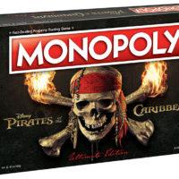 Piratas do Caribe: USAopoly anuncia edição especial de tabuleiro