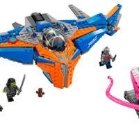 LEGO lança coleção inspirada em Guardiões da Galáxia Vol. 2