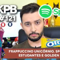 Frappuccino Unicórnio, Spotify para Estudantes e Golden Oreo | GKPB Em Vídeo #121