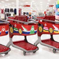 Target transforma carrinhos de supermercado em Mario Kart