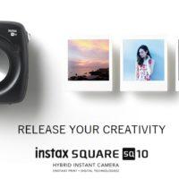 Nova câmera Instax da Fujifilm é metade digital, metade instantânea