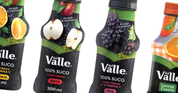 Del Valle lança sucos em garrafas pet e apresenta novo rótulo