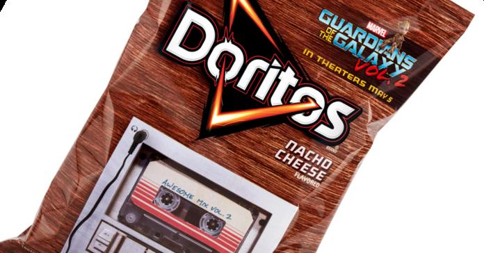 Embalagem da Doritos toca trilha de Guardiões da Galáxia Vol. 2 ... 7c9e8839a5f